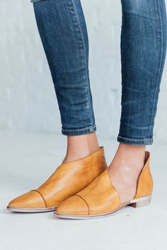 Royale Flats in Canary by Free People   Clad & Cloth Apparel – cladandcloth