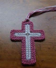 Risultato immagine per crocheted cross bookmarks patterns
