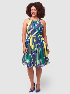 Oceana Prism Dress by Coldwater Creek