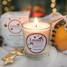 Cinnamon Bark Oil brings with it a distinctive hot & spicy, musky scent, Clove Leaf Oil is warm, uplifting and stimulating, and Sweet Orange Oil is radiant, spirited and zesty! Inspired by traditional festive 'perfumed balls' of fresh oranges, spiked with Clove Buds, adorned with ribbon, Cinnamon sticks and then hung to fragrance the home. Natural Candles, Soy Candles, Candle Jars, Clove Bud, Aroma Diffuser, Diffuser Blends, Orange Oil, Handmade Candles