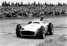 Juan Manuel Fangio, Mercedes W 196 1954