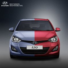 The very embodiment of sporty style, the Hyundai i20.