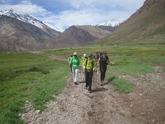 Horcones Valley, Aconcagua.  On the way to Confluencia Camp.  © 2012 Andes Mountain Guides