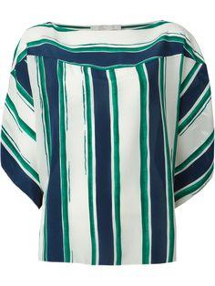 Chloé Striped Top - Vitkac - Farfetch.com