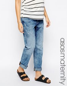 ASOS+Maternity+True+Boyfriend+Jeans+with+Over+the+Bump+Waistband