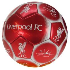 Liverpool FC - Size 1 Practice Ball With Team Signatures Liverpool Fc Shop, Liverpool Fc Gifts, Liverpool Football Club, Football Soccer, Soccer Ball, Football Officials, Soccer Gear, English Premier League, Xmas 2015