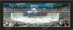 This small Buffalo Sabres stadium panoramic, framed to 27 x 9.5 inches.  $69.99 @ ArtandMore.com