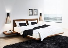 Double beds | Beds and bedroom furniture | riletto bed | TEAM 7 | ... Check it out on Architonic
