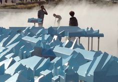 Bastide Niel on Miroir d'Eau in Bordeaux by MVRDV