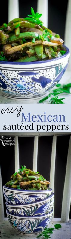 easy mexican sauteed peppers - Healthy Seasonal Recipes