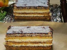 Domowe ciasta i obiady: Ciasto Sezam Polish Recipes, Polish Food, Tiramisu, Sweet Tooth, Sweet Treats, Cooking Recipes, Baking, Ethnic Recipes, Cakes