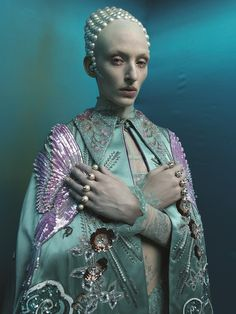 """""""The high priestess"""" Tim Walker shoots the 22 characters in tarot's major Arcana"""