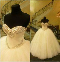2015 White/Ivory Wedding Dress Bridal Gown Custom Size 6 8 10 12 14 16 18 20+++