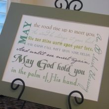 An Old Irish Blessing St Patrick's Day Peppermint Patty Favor Free sweet Printables ishareprintables.com  #freeprintables #stpatricksday #ishareprintables