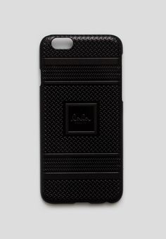 As a part of our exclusive Kufiya Noire Capsule Collection, our popular lala Berlin mobile case for Apple's iPhone 6+ is now available in Black on Black with a 3D signature Kufiya   #lalaberlin #lala #berlin #lalaloves #black #kufiynoire #specialedition #autumn #winter #aw16 #design #style