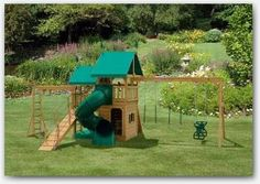 The Happy Hearts Swing Set. experience the joys of the Happy Hearts wooden play set. Visit us online to find a dealer near you today. Backyard Swing Sets, Big Backyard, Wood Swing Sets, Wooden Playset, Lawn Furniture, Find Friends, Amish Country, Happy Heart, Kids Playing