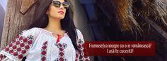 Din dragoste pentru traditie  www.romanianlabel.ro Ruffle Blouse, Costume, Tops, Women, Fashion, Moda, Women's, La Mode, Shell Tops