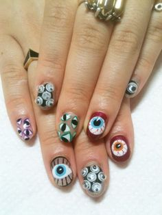 Googly eyes are this season's must-have nail decoration.
