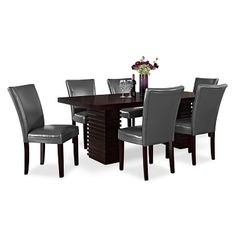 Paragon Caravelle Dining Room Collection   Value City Furniture Dining  Table $599.99 | Home | Pinterest | Dining Room Furniture, Dining Rooms And  Furniture