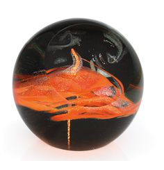 """""""A Star is Born"""" paperweight by Glass Eye Studio"""