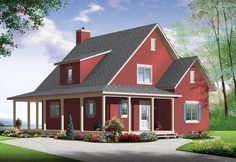Country House Plan 76364
