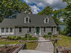 Perfect family compound on Damariscotta River close to town. Main house built at water's edge w/ 2-BR cottage connected by enclosed porch. Wrap-around deck, deep-water dock, paved access road, gorgeous gardens and spectacular sunsets. All one could want!  http://www.legacysir.com/maine-real-estate/309-State-Route-129-South-Bristol-maine-04573/1141181/