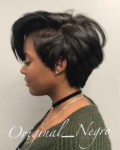 straight-hair-healthy-hair - Fab New Hairstyle 1 Cut My Hair, Love Hair, New Hair, Bob Hairstyles, Straight Hairstyles, 1930s Hairstyles, Black Hairstyles, Curly Hair Styles, Natural Hair Styles