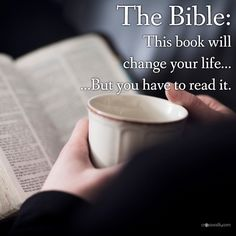 "Yes, you need to read it. Get a ""real"" Bible not a book by man, but the Word of God. Ask God to show you the truth. If you die believing a tradition or falsehood you will face the eternity of hell. So read the truth."
