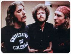 Glenn Frey, Don Henley, Joe Walsh. Washington DC, 1977