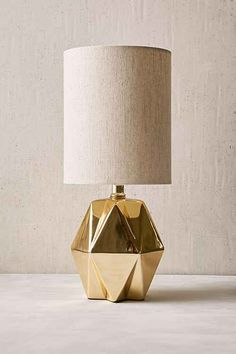 Shop Faceted Pastel Table Lamp at Urban Outfitters today. Cotton Shade, Faceted Lamp, Home Decor Sale, Table Lamp, Decor, Apartment Accessories, Round Table Lamp, Table, Desk Lamps