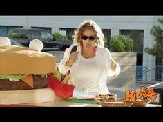 ▶ Giant Hamburger SMASHES Other Burgers Flat - YouTube