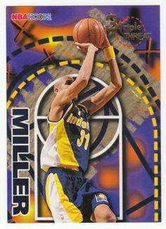 Reggie Miller # 245 - 1995-96 Skybox Hoops Basketball