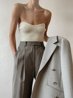 The beat suit Pants Outfits, Moda Outfits, Chic Outfits, Fashion Outfits, Fashion Trends, Pretty Outfits, Looks Style, Style Me, Look Fashion
