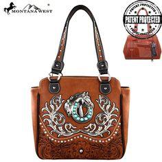 Montana West Concealed Carry Collection Handbag (MW254G-8350) – Handbag-Addict.com