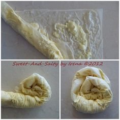 sweet-and-salty: Uklupčana pita sa sirom / Rolled Cheese Pie