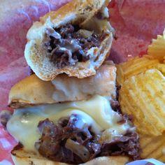 Atlanta's best cheese steak at the Mad Italian in Dunwoody