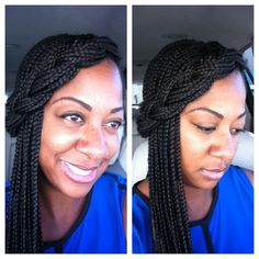 Erica Dixon Box Braids