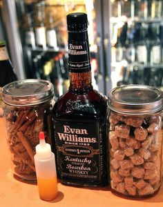 Make your own Fireball Whiskey. This might be fun to try. Very DIY!