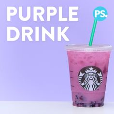 you are a fan of Starbucks s whole new line of rainbow drinks but don t want to keep running to the store every time you have a craving, well, you re in luck because we ve figured out how to make them, and they taste just as good as the originals! Bebidas Do Starbucks, Starbucks Secret Menu Drinks, Starbucks Pink Drink Recipe, Starbucks Food, Healthy Starbucks Drinks, Summer Drinks, Fun Drinks, Healthy Drinks, Food And Drinks