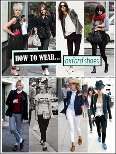 how to wear oxford shoes - particularly love the Michael Jackson look (oxfords, cuffed jeans, exposed socks)