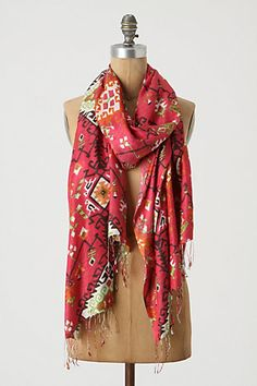 @Leslie Ligon I think this will be a good one to start my new scarf collection/obsession!