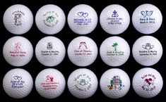 Golf balls Fore-ever. Har. Har.