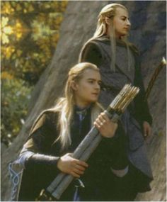 This picture makes me a little sad... Thinking about Haldir in TTT film :(
