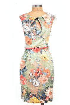 Monet Watercolor Dress