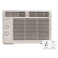 Frigidaire 5,000 BTU Window Air Conditioner - got this one for bedroom and emergencies