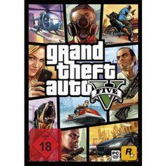 Grand Theft Auto V  PC in Actionspiele FSK 18, Spiele und Games in Online Shop http://Spiel.Zone