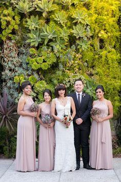 Long Formal Bridesmaid Gowns   Dessy   Mi Belle Photography   TheKnot.com