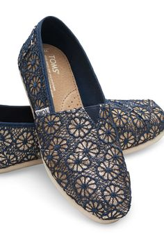 These crochet slip-ons are the perfect go-to shoes for casual times when you want to stand out just a touch.