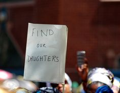 Pray for the missing girls: Against anarchy—pray that Nigeria will remain a secular state. #bringbackourgirls (photo by Michael Fleshman | Flickr)