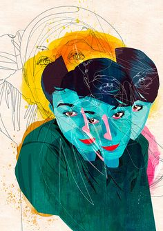 Illustration by: Alvaro Tapia Hidalgo Art Bizarre, Weird Art, Art Et Illustration, Illustrations, Art Inspo, Ap Studio Art, Web Design, Ouvrages D'art, Ap Art